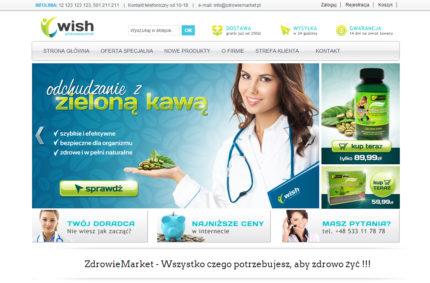 ZdrowieMarket – Sklep internetowy